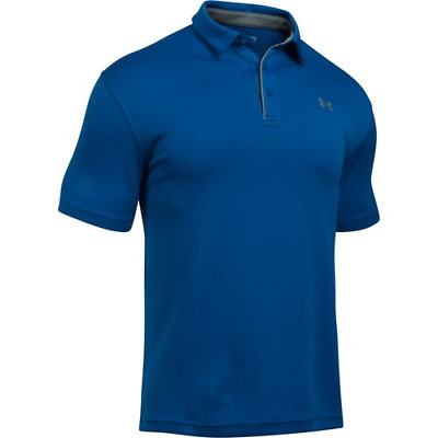 Under Armour 12901404002X Men's Royal Tech Polo 2XL