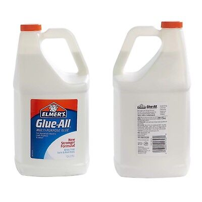 Liquid Glue by Elmer's Washable Color White Qty 1 Gallon Great For School !