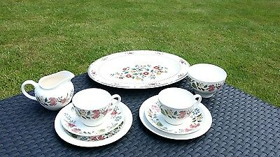 Trios X2, Milk Jug, Sugar Bowl & Serving Platter