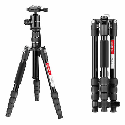 Beschoi Professional Camera Tripod Monopod With Ball Head Quick Release Plate