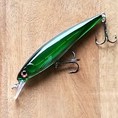 Green fishing lures 11cm Barra Jacks Cod Perch Queenfish Salmon Tailor Trout