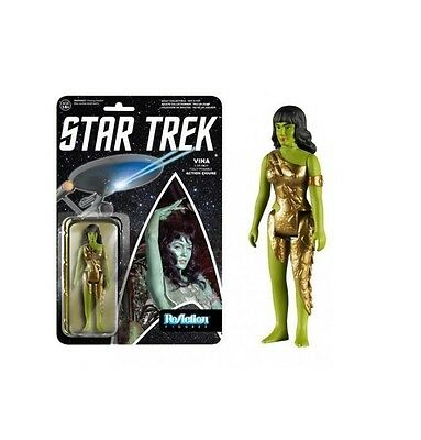 Classic STAR TREK Vina Actionfigur ReACTION Funko ca.10cm NEU