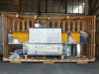 """Rotary Kiln Calcifier 18KW 6"""" Inconel Tube 1050C Atmopheric 3-Z Electric Furnace"""