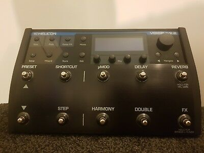 TC helicon voicelive 2 with original TC Helicon carry case & UK power adaptor