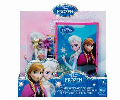 Cife – cif86605 – Frozen Stationery Diary + Accessories