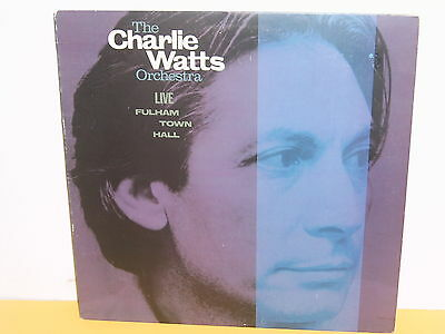 Lp - Charlie Watts Orchestra - Live Fulham Town Hall
