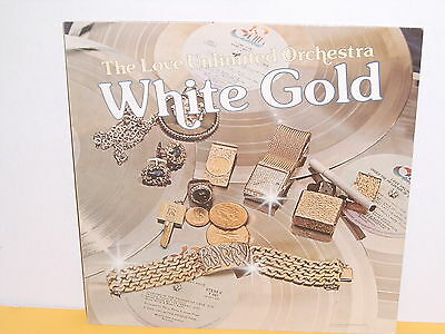 Lp - Love Unlimited Orchestra - White Gold