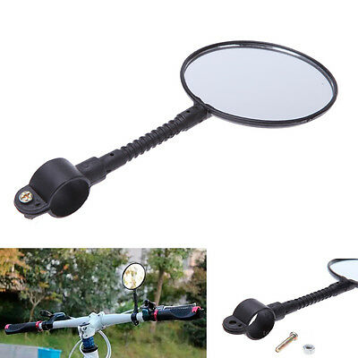 Safty Bicycle Helmet Mount Handlebar Rearview Rear View Vision Mirror Accessory
