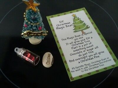 For use with Elf on the Shelf - Grow Your Elf a Christmas Tree