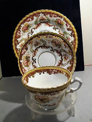 Royal Albert Porcelain (Tea Cup, Saucer, Plate) Trio - Ca 1910