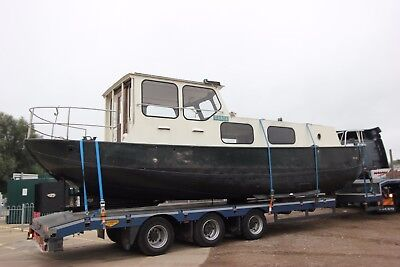 Dutch Barge Liveaboard houseboat recent hull survey