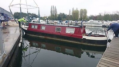 45 narrowboat, liveaboard, canal boat, houseboat