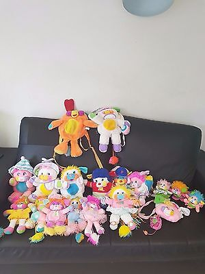 gros lot peluches popples vintage