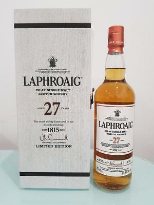 Laphroaig 27 Year Old Single Malt Scotch Whisky 700ml