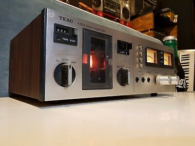 Vintage Teac A-400 2 Head Dolby & Bias Control Cassette Deck Made In Japan