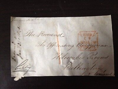 Free Front Dated 1840 - Towellington , Somerset - Signed Ashley