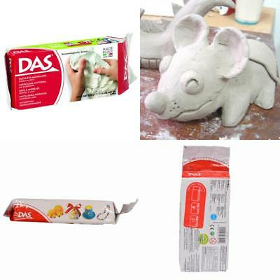 Modelling Clay 500G White Air-Dry Das New **Free Delivery**
