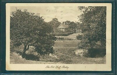 The Old Hall, Betley, Staffordshire, Printed, 1919