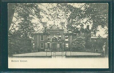 Betley Court, Staffordshire, Printed, 1905