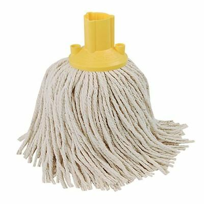 Exel Yellow 250g Mop Head Pack of 10 102268YL [CNT04345]
