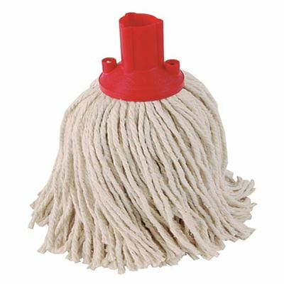 Exel Red 250g Mop Head Pack of 10 102268RD [CNT04341]