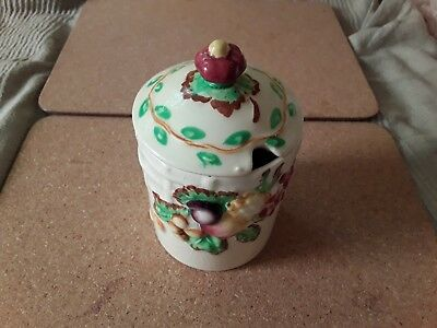 Wilkinson Jam pot, Possibly Clarice Cliff.