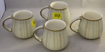 Set of 4 Denby Striped Mugs ##GADAC5SE
