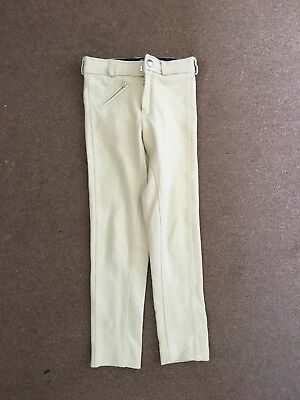 Childrens kids cream Life Style By Legacy jodphurs size 20