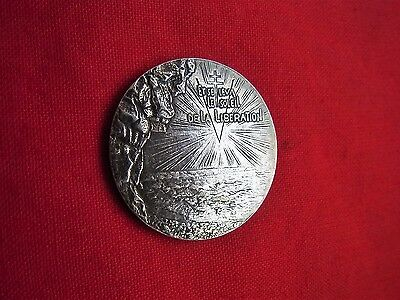 A Vintage Medal: 6 Juin, D-Day 1944-1974 The Sun Of Liberation.
