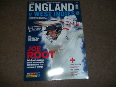England V West Indies 2Nd Investec Test Match @ Headingley 25-29Th August 2017 *