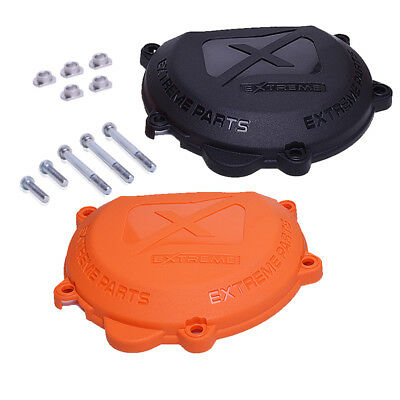 Clutch Cover  Protector Guard Fits 2 Stroke Ktm Exc 250 300 Year 2012-2016