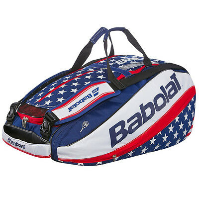 Babolat Pure RH X12 Racquet Bag Racket Holder - USA edition stars and stripes