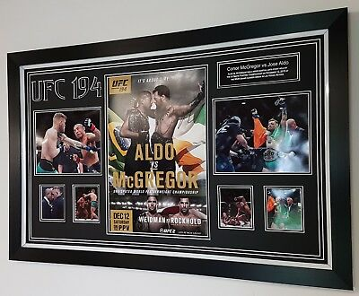 ***FIGHT NIGHT OFFER*** CONOR MCGREGOR SIGNED GLOVE Autograph Display