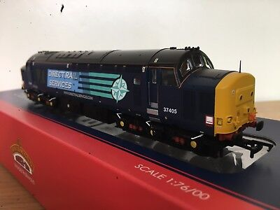 Bachmann Branchline 32-370 Class 37/4 37405 in DRS Compass blue