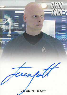 Star Trek Movies 2014 - Into Darkness - Joseph Gatt autograph