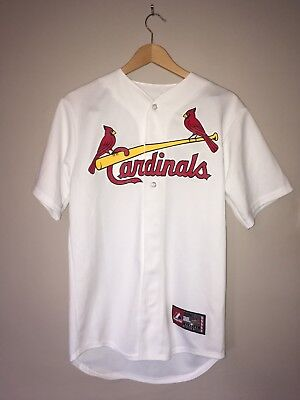 St. Louis Cardinals Majestic Home Cool Base Jersey