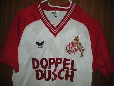 Trikot  1.FC Köln Vintage Made in West Germany Erima 70-80er NEU M