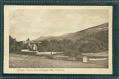 Bonaly Tower And Pentland Hills, Colinton, East Lothian, Printed, Circa 1920