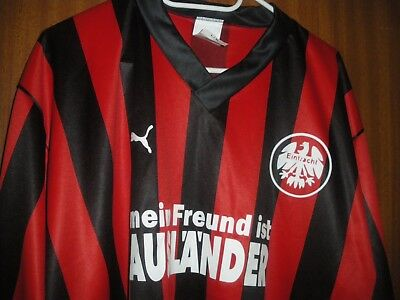 Trikot Frankfurt  Vintage Made in West Germany puma 70-80er NEU XL