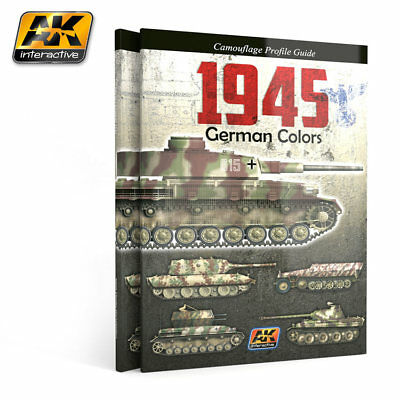 AK Interactive 1945 German Colors. Camouflage Profile Guide 4th EDITION