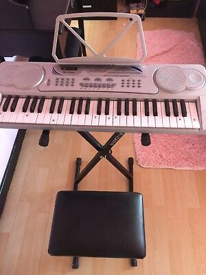 Acoustic Solutions Keyboard,stand And Stool