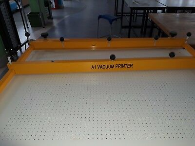 A1 Vacuum Screen Printing Table Manufactured By CR Clarke.
