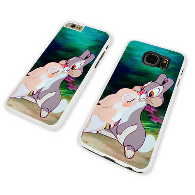 DISNEY BAMBI THUMPER WHITE PHONE CASE COVER fits iPHONE / SAMSUNG (WH)