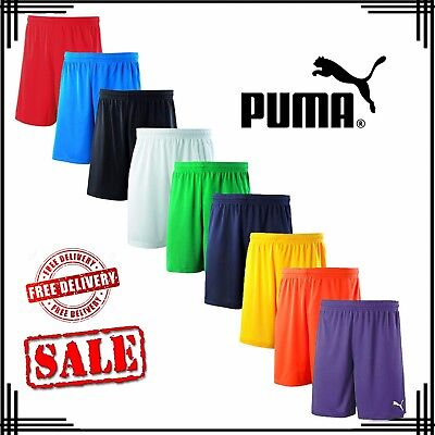 Puma Velize Mens Casual Training Running Football Sports Shorts Uk Size S-3Xl