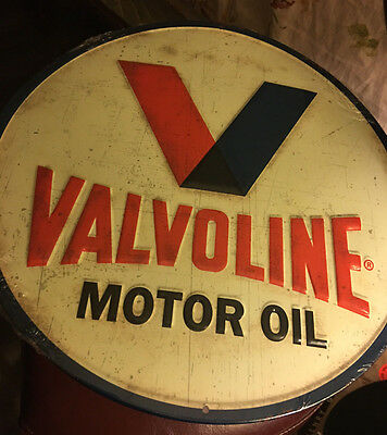 "VALVOLINE Fan Pack:12"" Metal Sign,Transformers Cooler, Tumbler, & 6 vinyl decals"