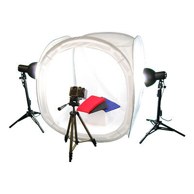 Professional 300w 7 inch Studio Lighting kit with 80cm tent