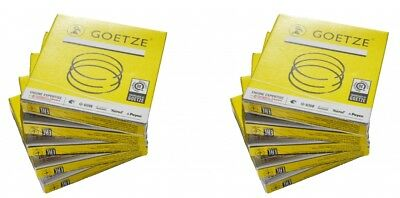 Piston Rings Set For 10 Cylinders Goetze 0810430000-10