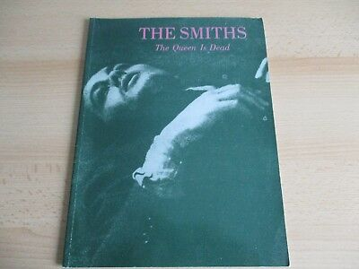 The Smiths Rare Music Book - The Queen Is Dead - Sheet Music Imp 1986 Morrissey