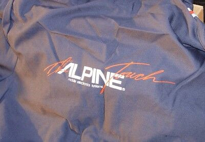 """the Alpine Touch"" /////mobile Electronics Systems Coveralls Vintage Genuine New"