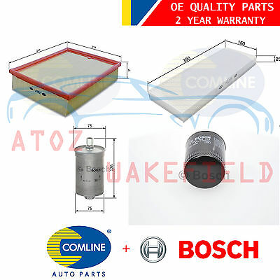 For Audi B5 S4 2.7 Air Oil Pollen Fuel Petrol Service Kit Filters Agb 1998-2001